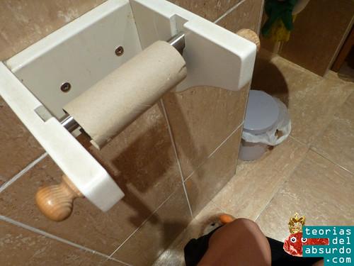 cartón higiénico acabe papel quedarse sin vater wc