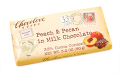Peach & Pecan in Milk Chocolate