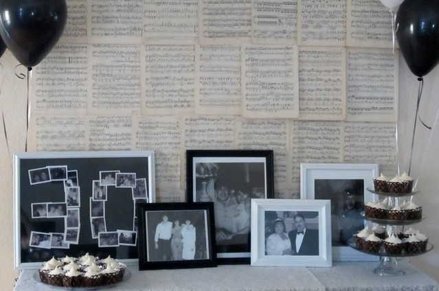 Jessica rodarte 30th wedding anniversary party for 30th wedding anniversary decoration ideas
