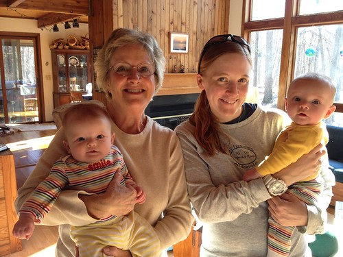 Zoe, Gram, Mama & Grace