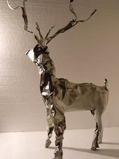 tea bag tin reindeer.