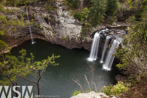 cliff nature landscape waterfall view tennessee falls viewpoint fallcreekfallsstatepark splashpool canecreekfalls