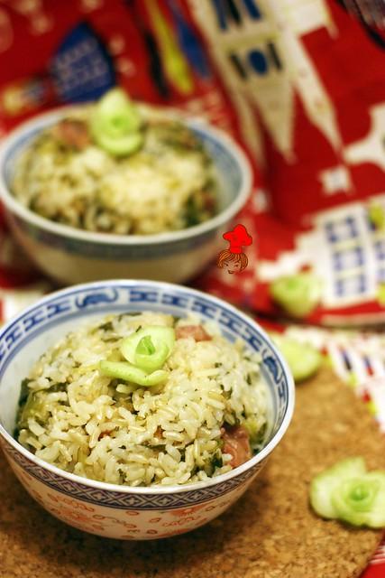上海菜飯 Shanhai veggi rice 1