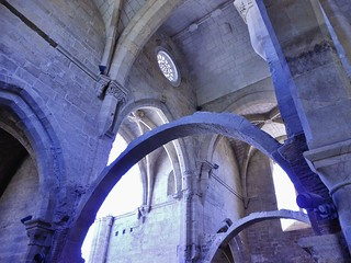 Arches Inside Saint Clare Monastery