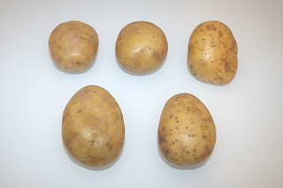 02 - Zutat Kartoffeln / Ingredient potatoes