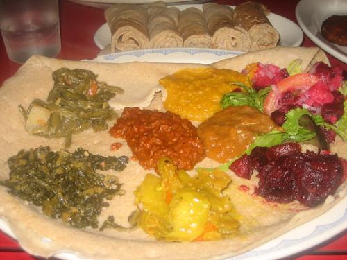 IMG_6202 Abyssinia Veggie Combo