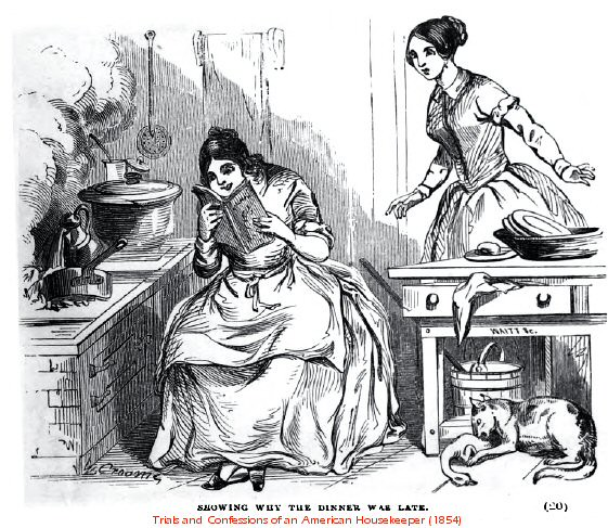 World Turn'd Upside Down: Mid-1800s Servitude and Cooking This Week