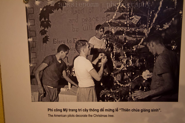American Pilots Decorating Christmas Tree