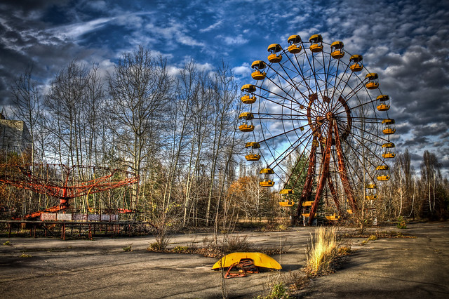 0308 - Ukraine, Pripyat, Ferris Wheel HDR