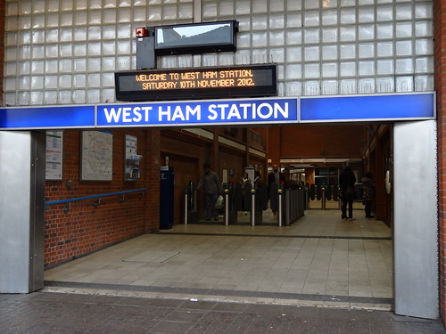 West Ham Station Entrance