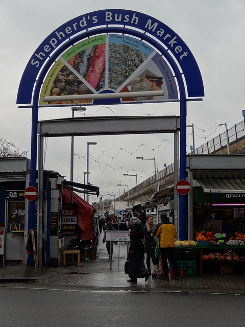Shepherd's Bush Market North Entrance