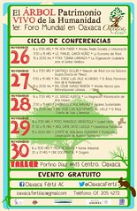 Ciclo de Conferencias Nov 26-30 @OaxacaFertil