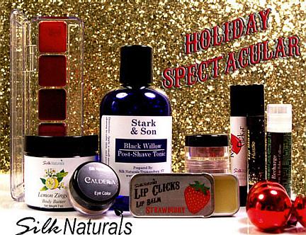 silk naturals holiday 2012