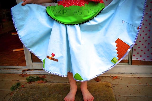 mario skirt