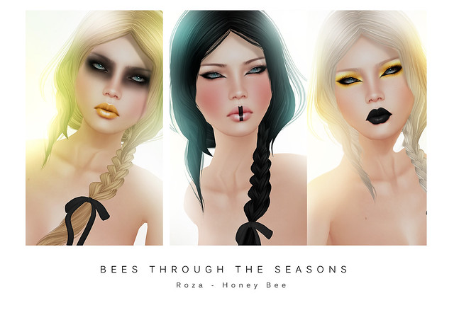 Roza Honey Bee for BEES THROUGH THE SEASONS