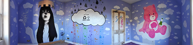 Cloud room panorama