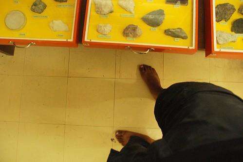 Barefoot at National Museum Branch at Quezon, Palawan