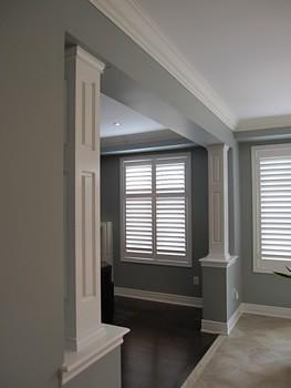 Interior columns 3
