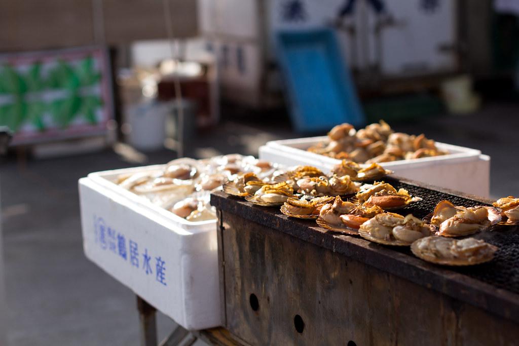 Grilled Scallop (Nakaminato, Ibaraki, Japan)