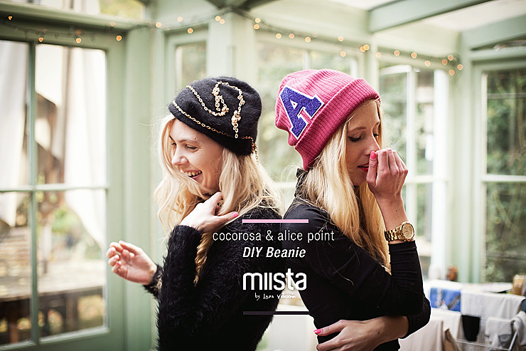 Miista's DIY beanie Tutorial by Alice Point and cocorosa