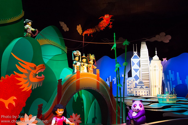 HKDL Oct 2012 - Riding it's a small world