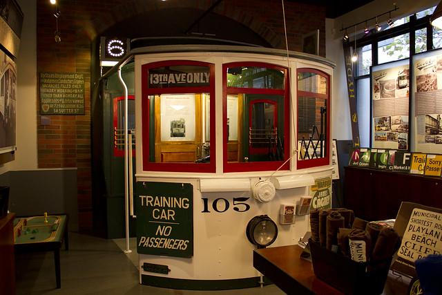 MUNI Streetcar Museum