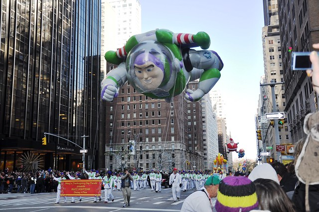 Buzz Lightyear- Macy's 2012 Thanksgiving Day Parade