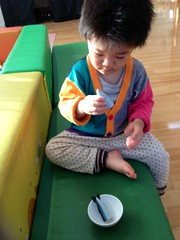 子育て支援センターにて (2012/11/24)