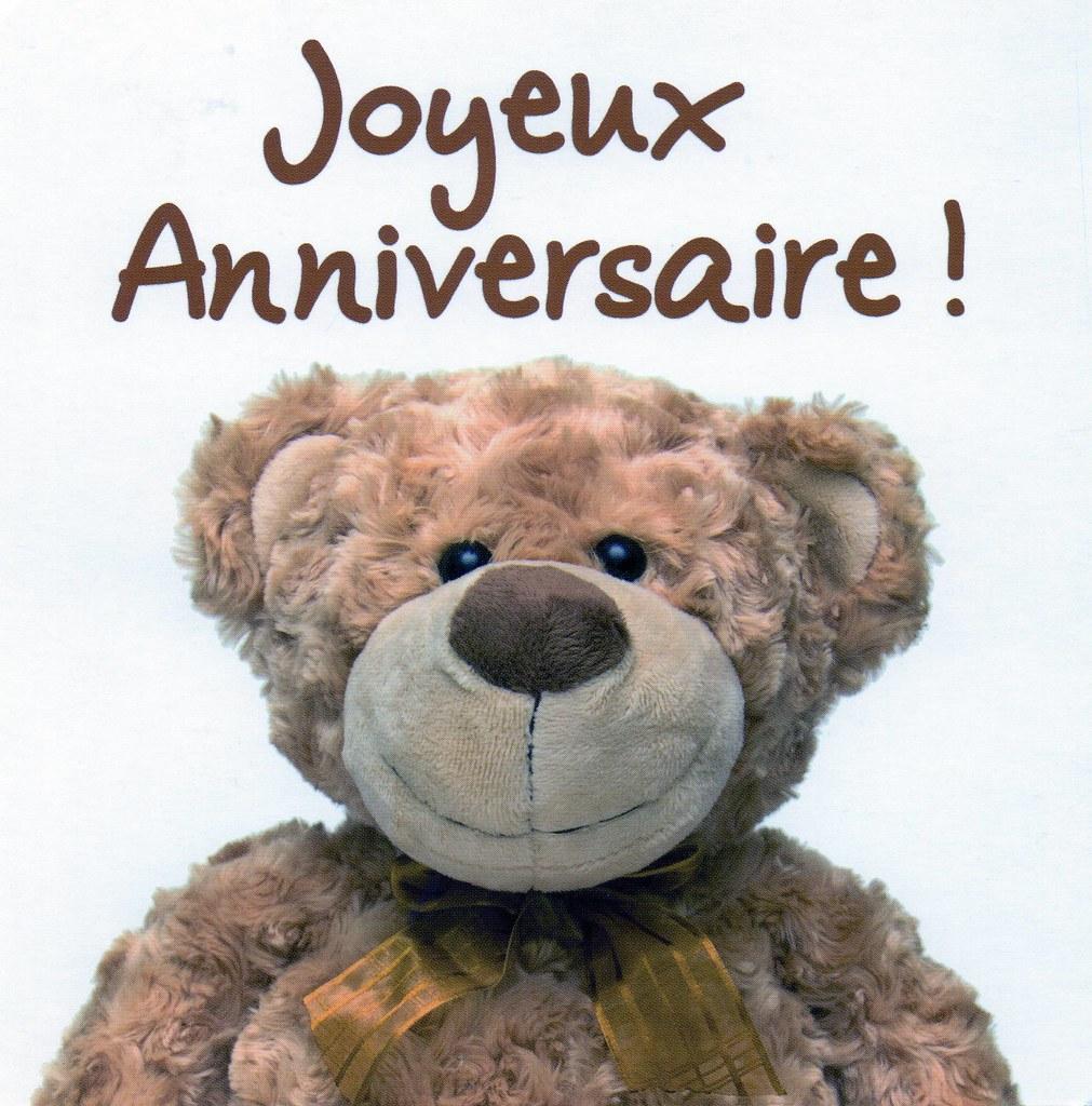 France Joyeux Anniversaire Annick Un Joli Nounours Pour Me Flickr