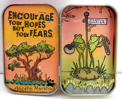 Altoids Tin Anesha - Inside