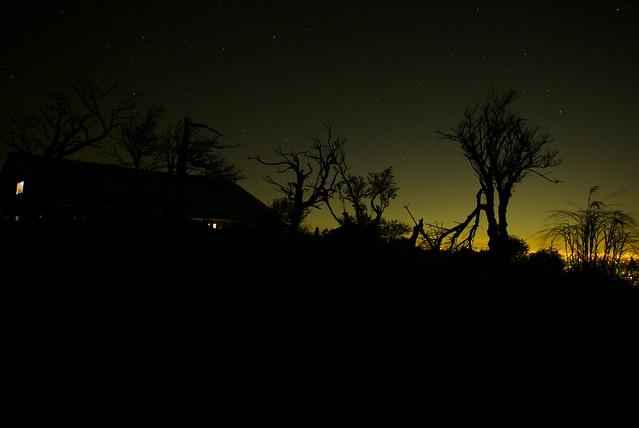 夜半の蛭ヶ岳小屋