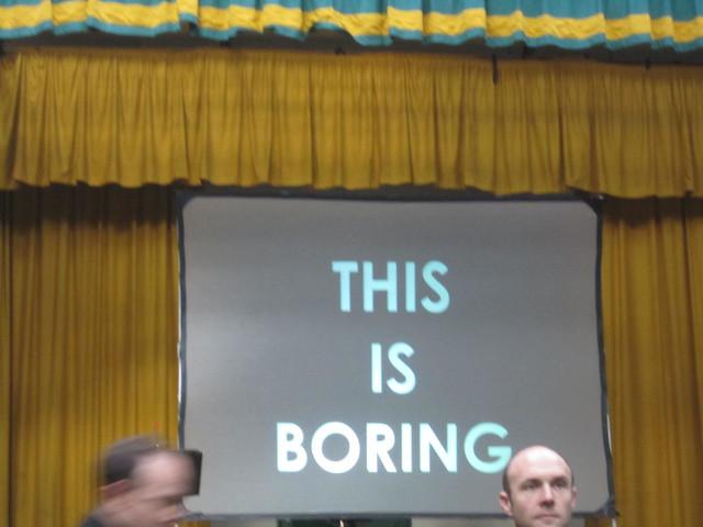 Boring 2012