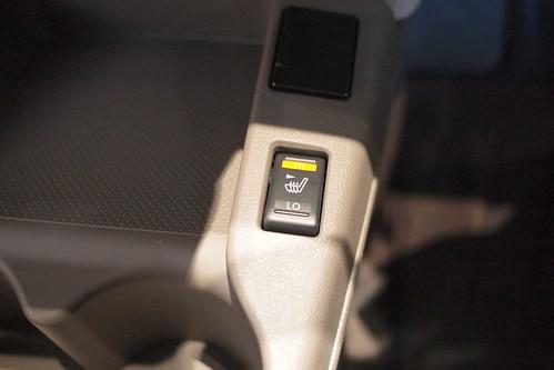 クイックコンフォートシートヒータースイッチ(運転席側)