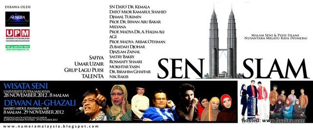 Malam Seni & Puisi Islami Numera