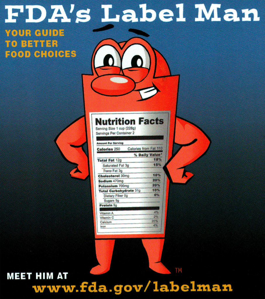 Ad for Nutritional Label (FDA 147)