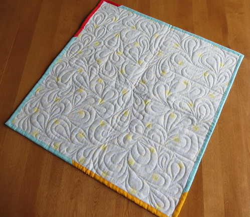 Monkey bed quilting