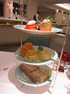 Afternoon Tea, Fortnum and Mason, London - November, 2012