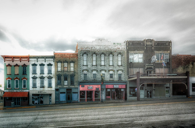 Downtown Hannibal, Mo.