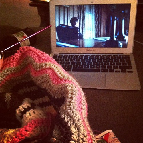 Sickness, #crochet and Boardwalk Empire