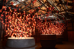 Tatsuno art exhibition in the old soy sauce brewery
