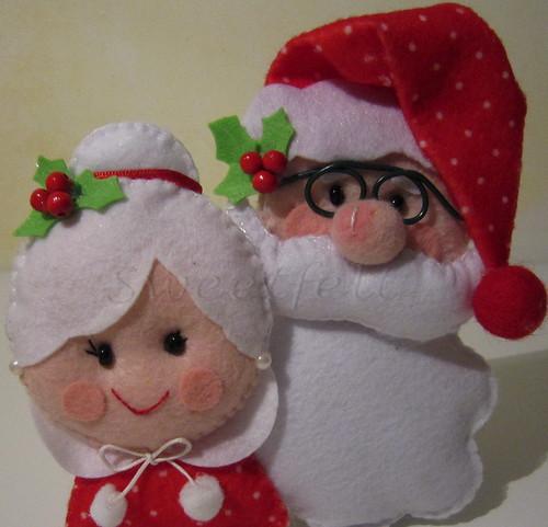 ♥♥♥ É o Natal... by sweetfelt \ ideias em feltro