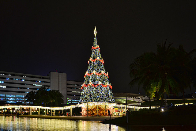 Christmas tree at VivoCity, Singapore