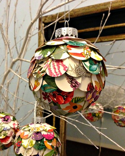 Artichoke Christmas Ornament DIY