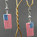Patriotic Flag Earrings 3 DSC03929