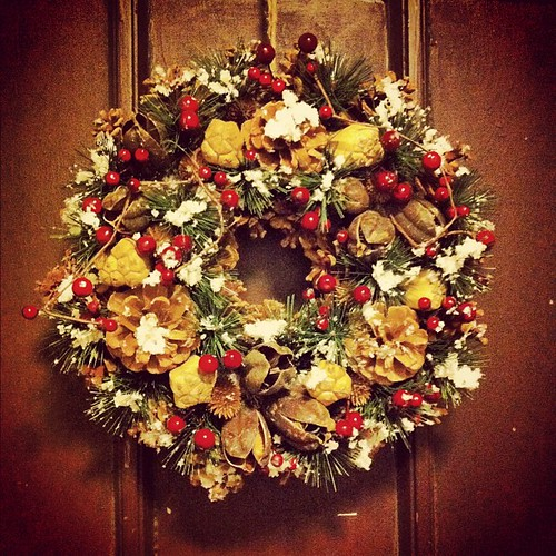 #christmas #wreath from my mom
