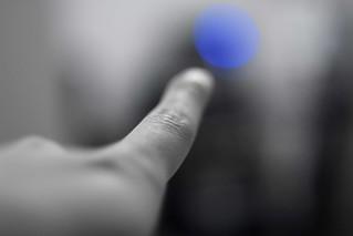Bokeh Finger