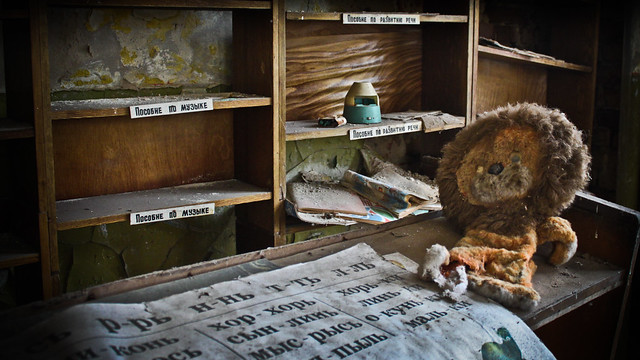 0315 - Ukraine, Chernobyl, Kopachi Village School HDR