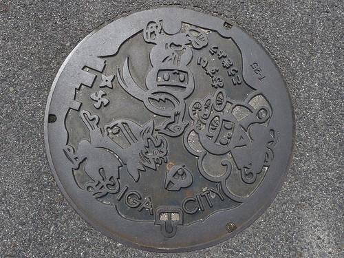 Iga city Mie pref, manhole cover (三重県伊賀市のマンホール)