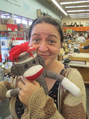Kate Loves Sock Monkeys
