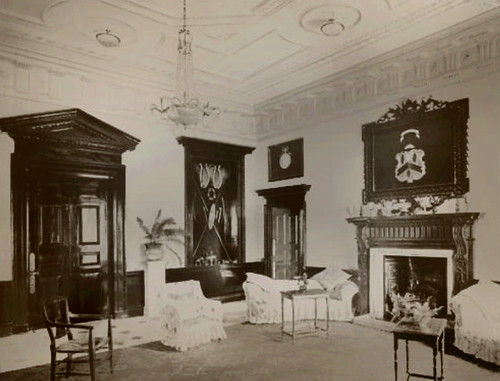 Burwell Hall Lincs reception room REVIVALHERITAGE
